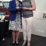 Winner of Captain's Prize, Niamh Quinn